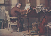 beethoven at his piano from the collection of the ira f brilliant center for beethoven studies